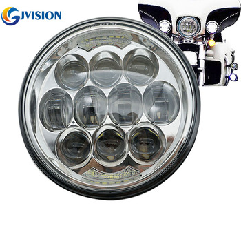 80W Motorcycle 5-34 5.75 Daymaker LED Headlight for Harley Davidson,sportster,triple,low rider,wide glide Headlamp Projector harley davidson headlight price
