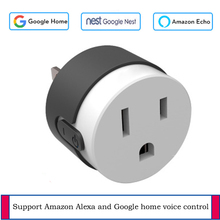 US/EU Standard wifi smart socket Support TUYA APP wireless control IFTTT voice control Mini socket apply to google home alexa все цены
