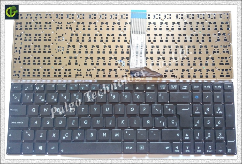 Spanish Keyboard For ASUS X553 X553M X553MA K553M K553MA F553M F553MA A553 A553M A553MA Black SP Latin LA keyboard spanish rgb backlit colorful keyboard for msi ge63 ge63vr ge73 ge73vr gp72mvr gp72vr gp62m gv72 gv72vr latin la sp