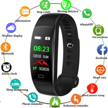 JQAIQ GPS Smart Fitness Bracelet Tracker Band Waterproof Blood Pressure Heart Rate Monitor Health Sport Wristband
