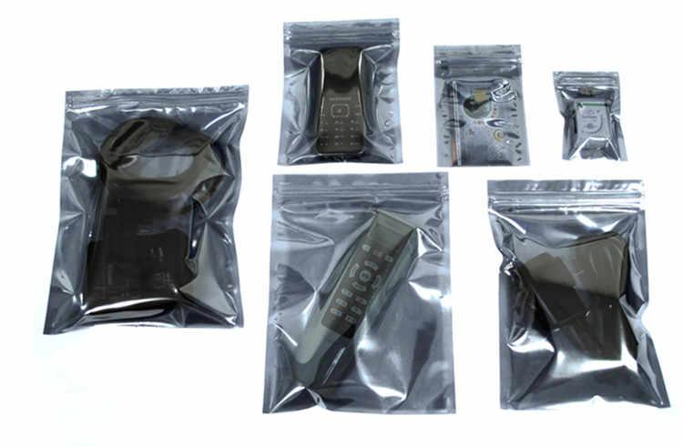 """100 pcs 13x19 cm (5.1 """"x 7.5"""") Saco Anti Estático Blindagem Anti-Estática pacote de Saco À Prova D' Água Auto Selado Pacote de Saco Ziplock Antiestático"""