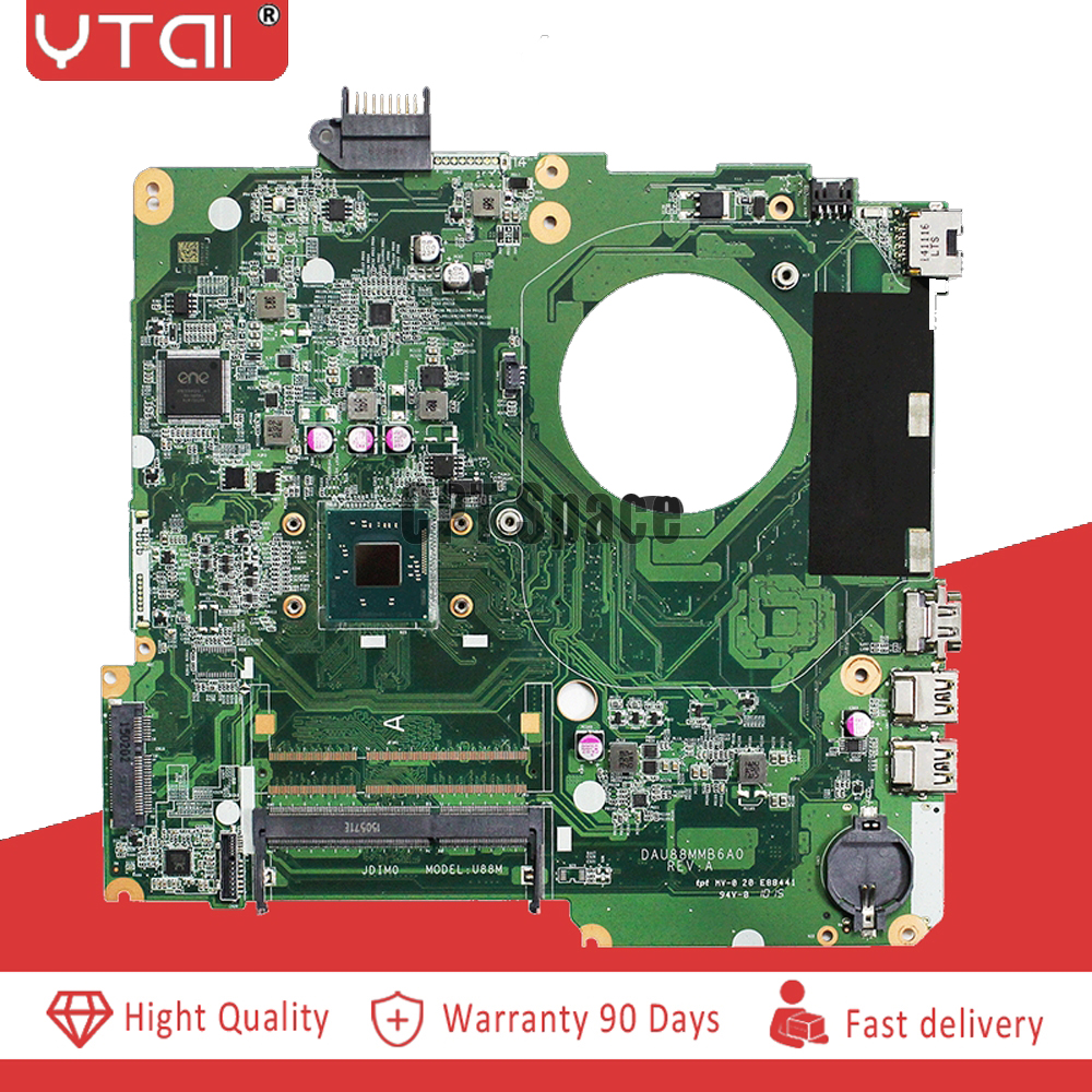 786899 501 For HP 15 F motherboard N2840 DAU88MMB6A0 786899 001 15 Laptop Motherboard 100 tested