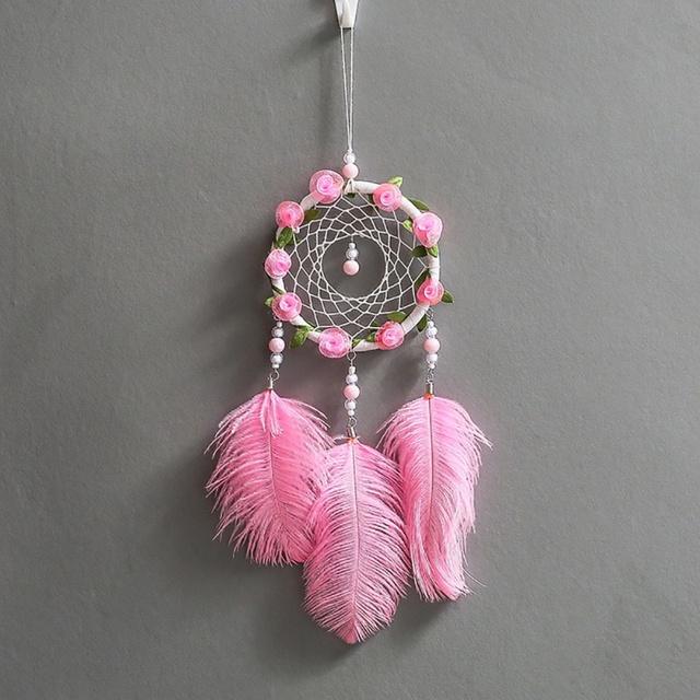 Handmade Flower Dreamcatcher