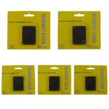 Di alta qualità Scheda di Memoria Per PS2 per Playstation 2 8MB 16MB 32MB 64MB 128MB di Memoria carta di Salvare I Dati di Gioco Bastone