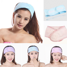 New Fashion Wash Face Makeup SPA Women Sweat Elastic Soft Headbands Hair Band Accessories