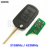 QCONTROL Remote Car Key For Land Rover Vogue For Range Rover 315MHz 433MHz PCF7935 Chip HU92