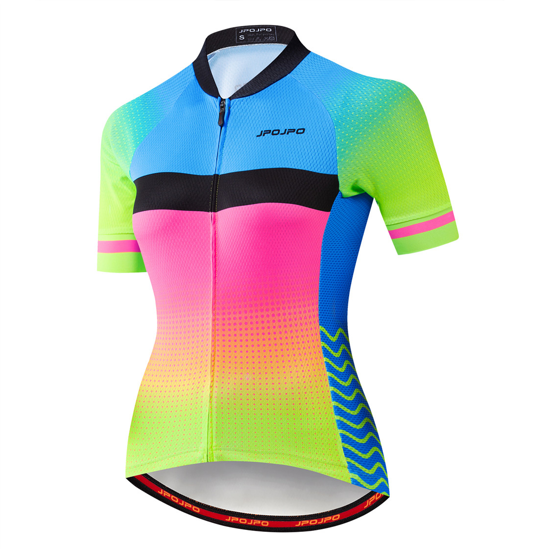 2019 Bike Jersey women cycling jersey road MTB bicycle shirts Ropa Maillot Ciclismo Racing green cycle top red blue summer wear in Cycling Jerseys from Sports Entertainment