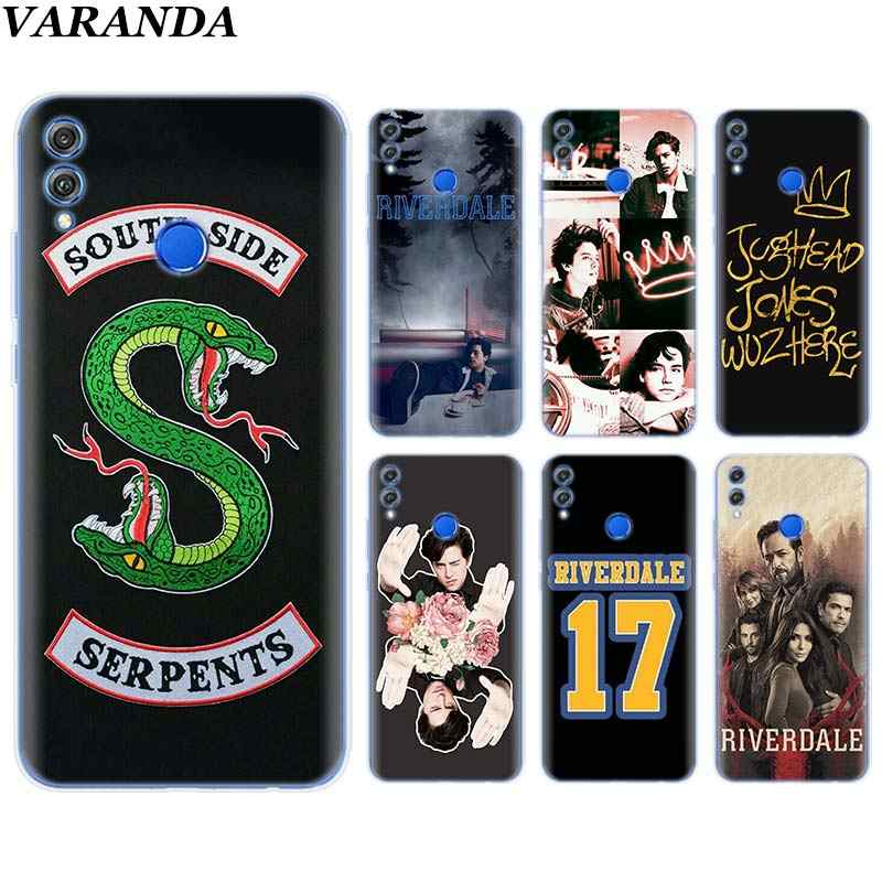 Riverdale pop's south side JUGHEAD Silicone Soft Case for Huawei Honor 8X 8C 7A 7C 7S 9 10 Lite Y5 Y6 Y7 Y9 2019 Phone Case Coqu