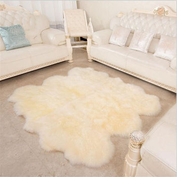 Modern Kids Bed   Pure Wool Large Carpet For Living Room Bedroom Bed Soft Delicate Rug Home Floor Kid Climb Meeting Room Fashion Home Mat Simple