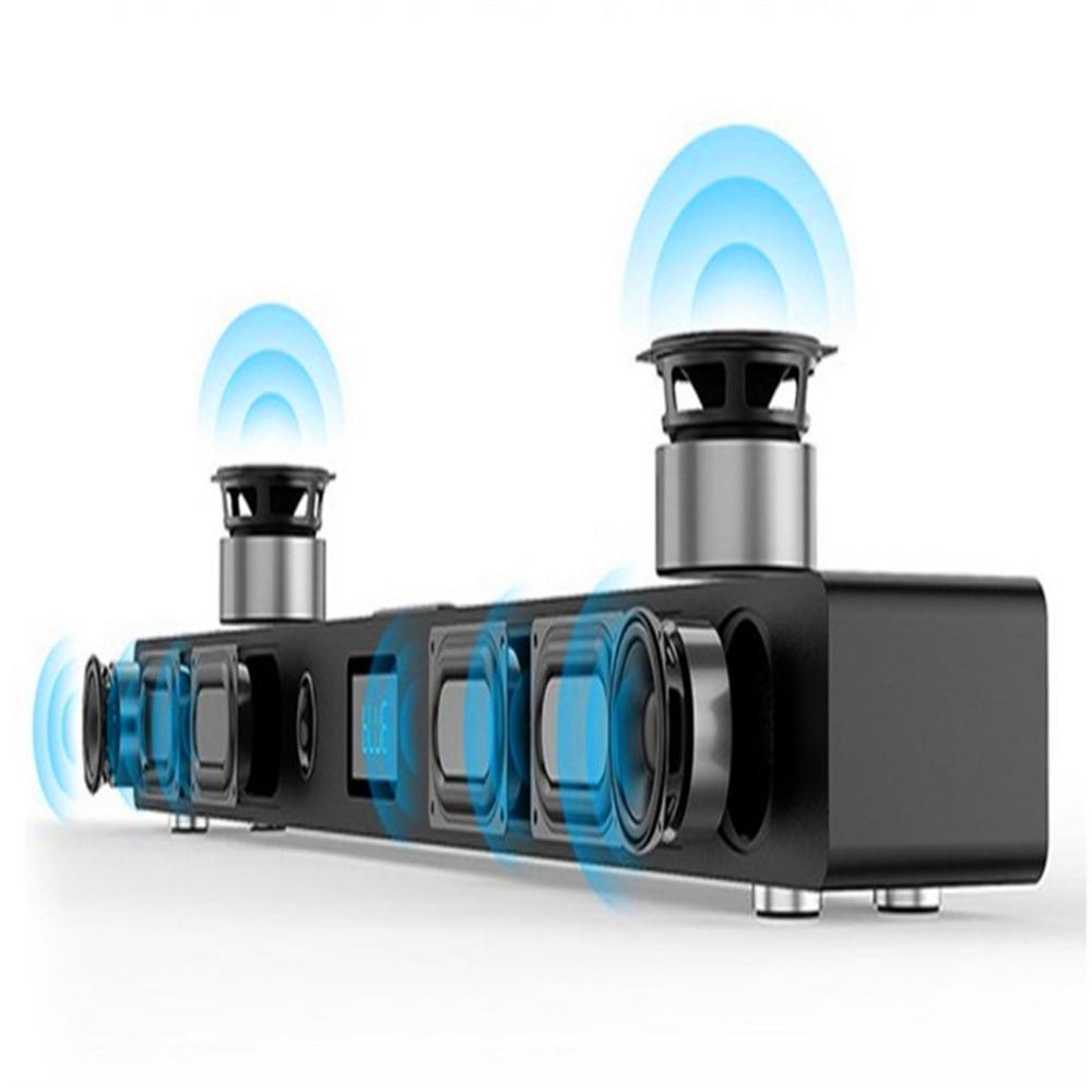 Accueil système Audio Bluetooth haut-parleur centre de musique barre de son 5.1 Home cinéma barre de son Surround son pour Tv mur système acoustique