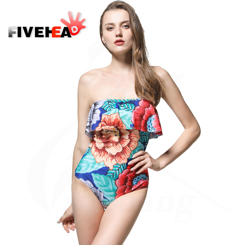 Off The Shoulder Ruffle Swimwear Women Swimsuit Maillot De Bain Monokini Thong Swim Wear One Piece Swimsuit sexy solid off shoulder swimwear women high cut bathing suit ruffle plus size monokini thong one piece swimsuit maillot de bain