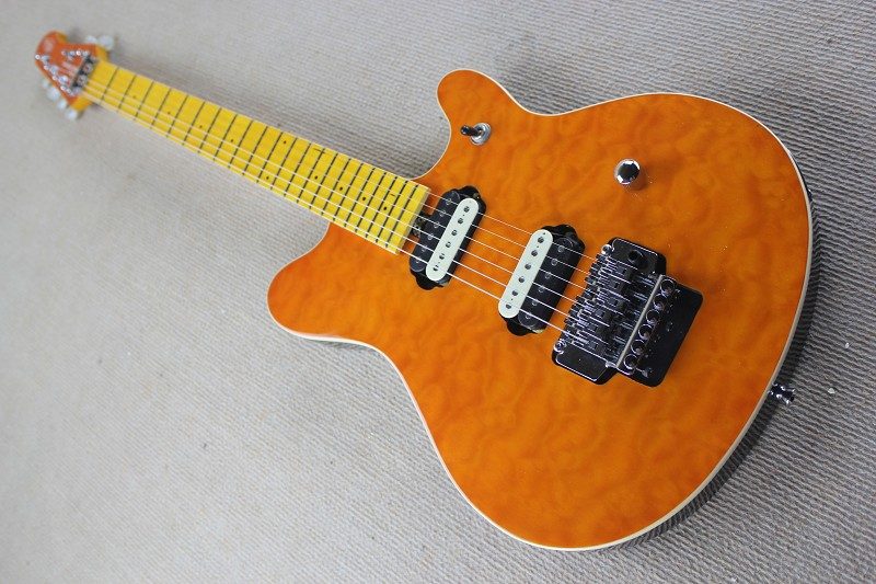 China guitar factory custom100% New High Quality Ernie Ball Music Man 6 Strings Electric Guitar with Tremolo free shipping 914