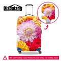 Dispalang new design variety floral 3D prints travel trolley luggage protective dust cover stretchable waterproof suitcase cover