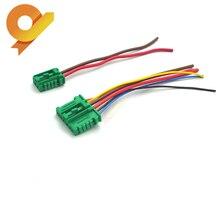Вентилятора отопителя, резистор мотора разъем косички для Citroen, peugeot, Renault Nissan 27150-ED70A 7701048390 7701207718 6441L2