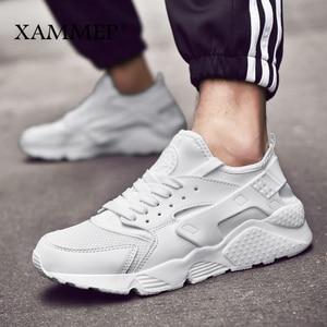 Image 3 - Men Casual Shoes Men Sneakers Brand Men Shoes Male Mesh Flats Loafers Breathable Plus Big Size Spring Autumn Slip On Xammep