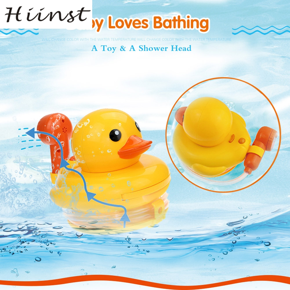 HIINST Spray Duck Water Bath Beach Party Swimming Pool Toy Gift Kids Toddler Ducks play with water toys AUG1425