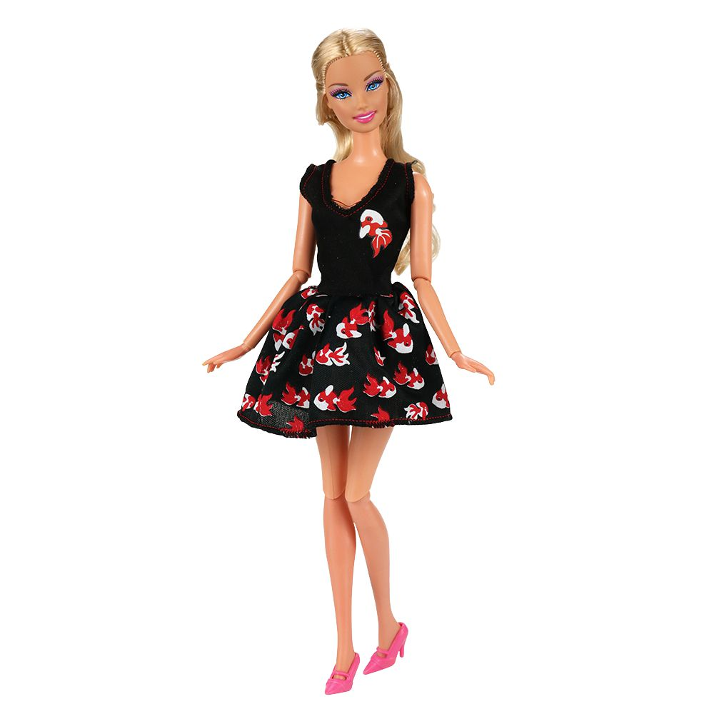 2019 Newest Hot Fashion Handmade Cute Mini Doll Skirt Outfit Dress Accessories Clothes For Barbie Doll Best Birthday Gift