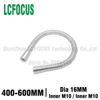 1pcs Dia 16mm led Gooseneck flexible lamps holder Chrome iron Hose universal Desk lamp table lamp soft pipe serpentine tube