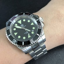 Men's Classic Diving Mechanical Watches 200m Waterproof Stee