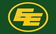Edmonton Eskimos Flag 3x5FT CFL banner 100D 150X90CM Polyester brass grommets custom66,free shipping
