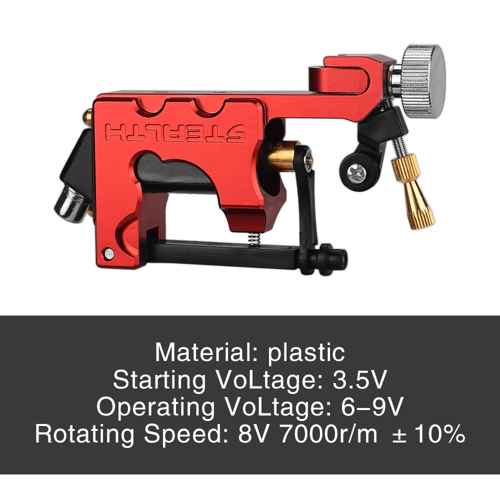Image 5 - 2019 New Tattoo Machine Frame Rotary Electric Tatto Motor Drive Machine Shader Liner Permanent Makeup Professional Tattoo Gun-in Tattoo Guns from Beauty & Health