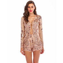 MUXU gold sequin womens two piece sets cropped set top and pants women suits long sleeve glitter