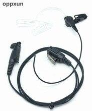 Concealed air guide earphone for Motorola GP328plus GP338plus GP344 GP388 two way radio walkie talkie