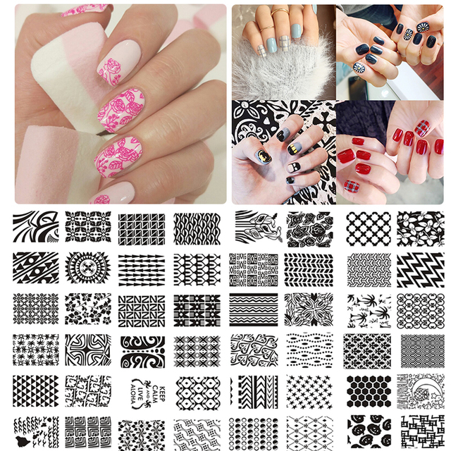 How To Use Nail Art Stamp With Gel Polish Absolute Cycle