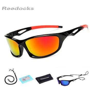 Reedocks nowe polaryzacyjne okulary wędkarskie mężczyźni kobiety okulary jazdy okulary przeciwsłoneczne do jazdy na świeżym powietrzu okulary sportowe akcesoria wędkarskie tanie i dobre opinie FE-6001N Spolaryzowane okulary Polarized UV400 Night Vision Cycling Riding Driving Fishing Golf Quality Plastic