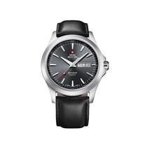 Наручные часы Swiss Military SMP36040.08 мужские кварцевые на кожаном ремешке