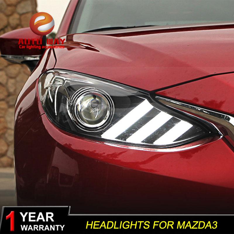 գործը Mazda 3 mazda3 Axela 2014 2015 2015 լուսարձակ LED - Ավտոմեքենայի լույսեր - Լուսանկար 2
