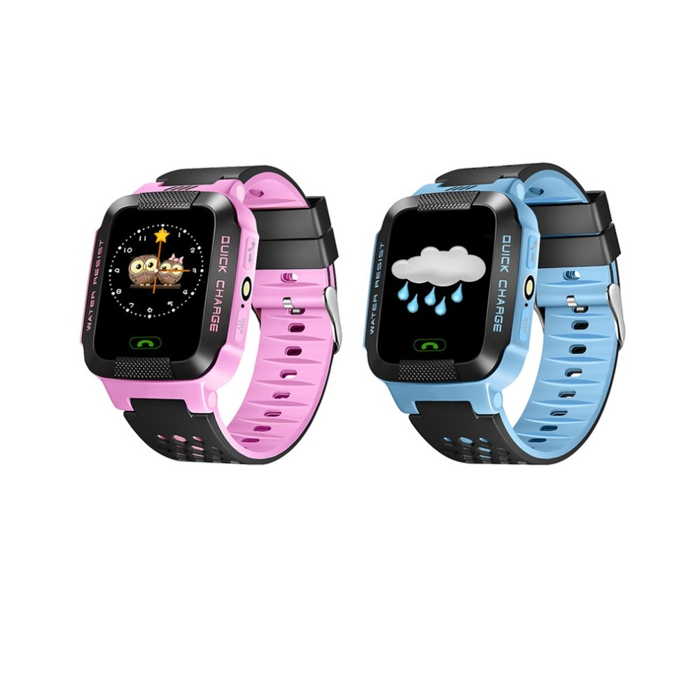Niños Smart Watch DS39 GPS niños reloj inteligente con cámara linterna bebé reloj SOS llamada ubicación dispositivo de seguimiento para niño seguro