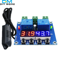 XH M452 High Precision DC 12V 10A Digital LED Dual Output Temperature And Humidity Controller Module