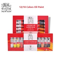 Winsor Newton 12 18 Colors High Quality Professional Oil Paint Art Supplies 12ml Piece