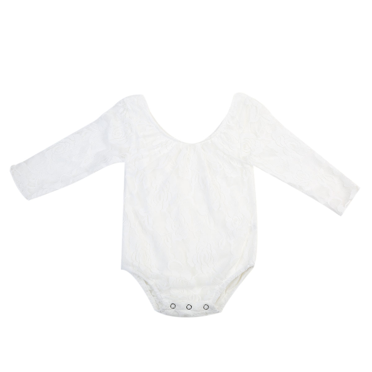 Newborn Baby Girl Lace Romper Long Sleeve Jumpsuit Playsuit Outfits Summer Baby Onesie Clothes baby girl boy romper tiny cottons white gray long sleeve angel wings baby clothes newborn jumpsuit rompers baby onesie costume