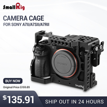 SmallRig Camera Cage for Sony a7II/a7RII/a7SII Tailored Form-fitting Cage with an ARRI Rosette - 1982 form fitting striped shell dress