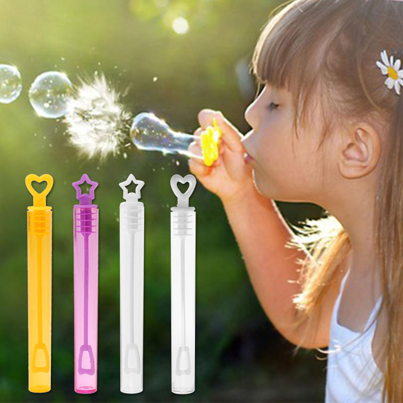 Empty Bubble Soap Bottle Tube Birthday Party Wedding Decor Heart/Star Bottle Bubble Soap Bubble Blower Outdoor Toys For Children