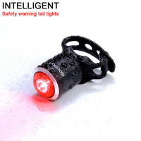 Cycle Intelligent Safety Taillight Waterproof Bike Rear Lights Usb Rechargeable Bicycle Lamp Gaciron