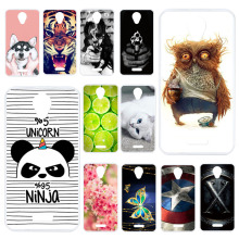 цена на Soft TPU Phone Case For BQ BQS-5057 Strike 2 Case Silicone Cover For BQ Mobile BQS 5057 BQ 5057 Cover Painted case Back Bumper