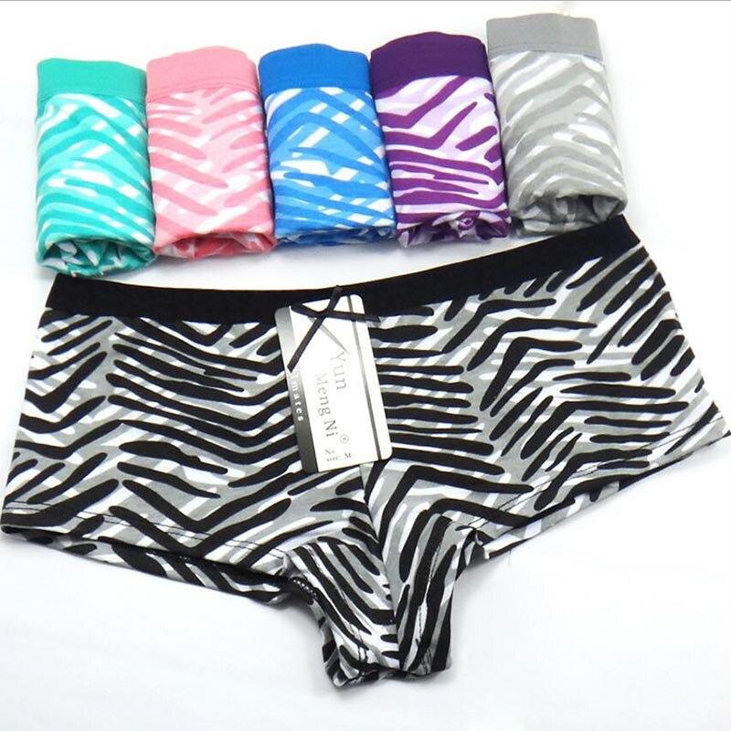 c0bd42855a3 WTEMPO 6 Pcs/Lot Brand Sexy Women Underpants Plus Size Cotton Women Boy  Shorts Newest Panties Underwear Boxer Fashion Boyshorts