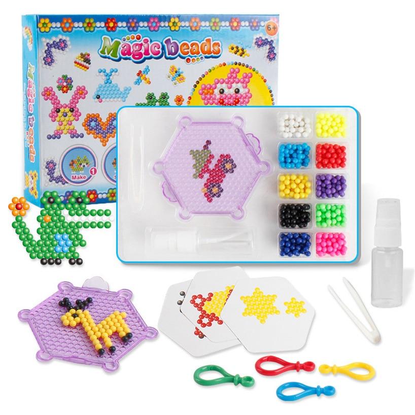 DIY Магия туман волшебный бисер изложить счастливое детство головоломки игрушки головоломки здоровья выполните RE3