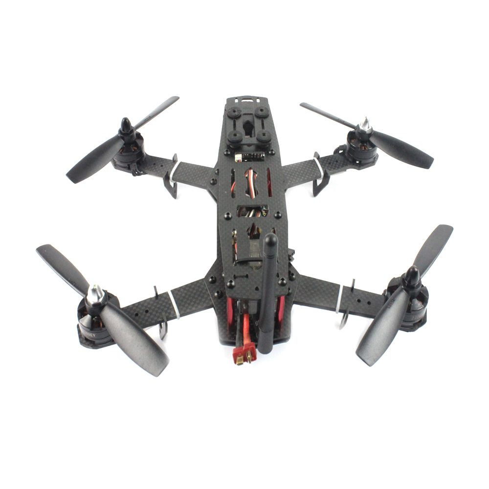 DIY Racer 250 FPV RTF Drone with SP Racing F3 Flight Controller CCD Camera Radiolink AT9S TX&RX With Battery FPV Monitor