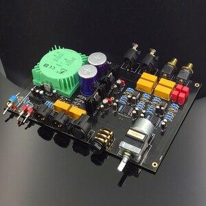 HIFI COLLEGE HC6 Fully Balanced Input Full Balanced Output with Headphone Output TPA6120