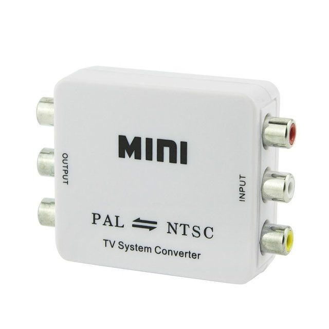 Mini TV System Converter PAL/NTSC Video Converter Composite ...