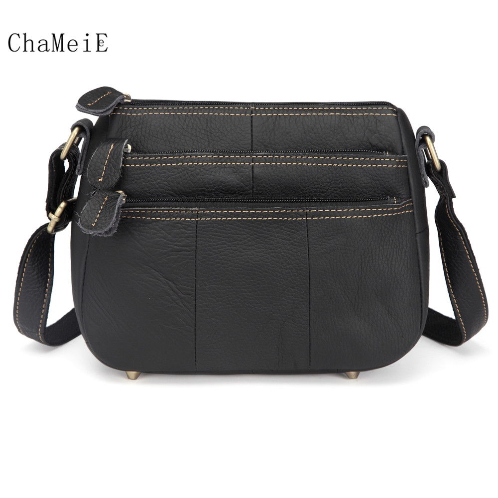 New Arrival Fashion Design Women Crossbody Bag Genuine Leather Zipper Messenger Bag Brand Shoulder Bag недорго, оригинальная цена