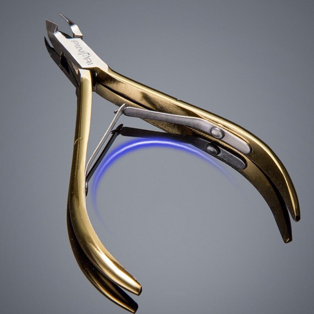 501 de Ouro Cuticle Scissor Clippers Manicure Cortador