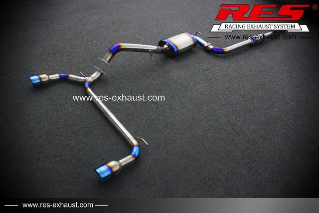 Cheap Auto Parts Res Racing For Ford Focus Car Exhaust Systems
