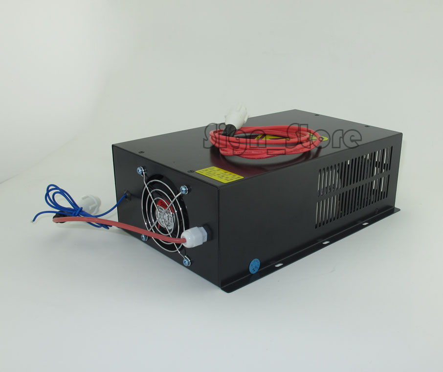 80W 80Watt Laser Power Supply PSU CO2 laser engraving cutting machine 2pcs lot 60w laser power supply psu high voltage flyback hongyuan hy t60 co2 engraving cutting machine ignition coil