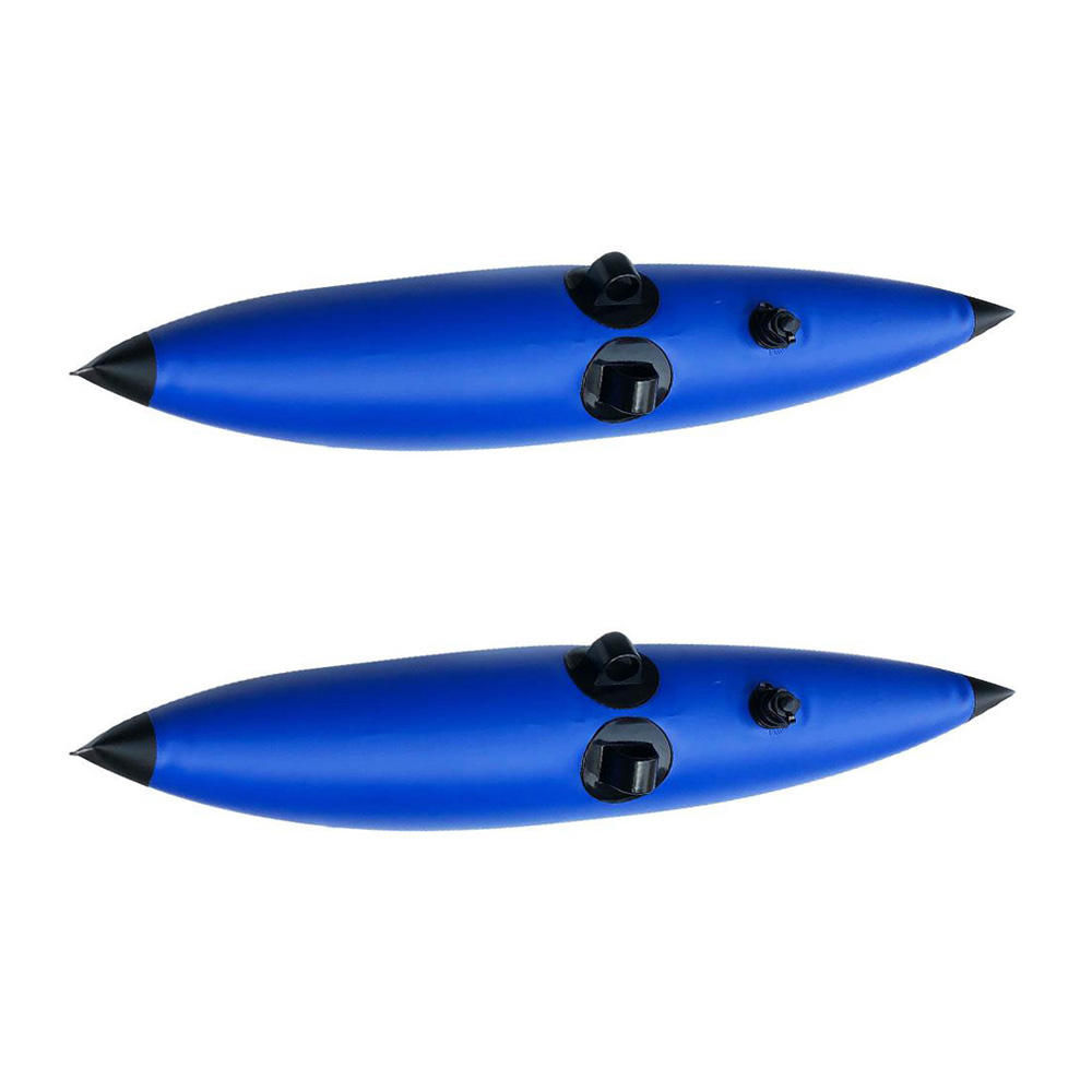 Blue Fishing Standing Beginners Outriggers Kayak Stabilizers Water Float Buoy Standing