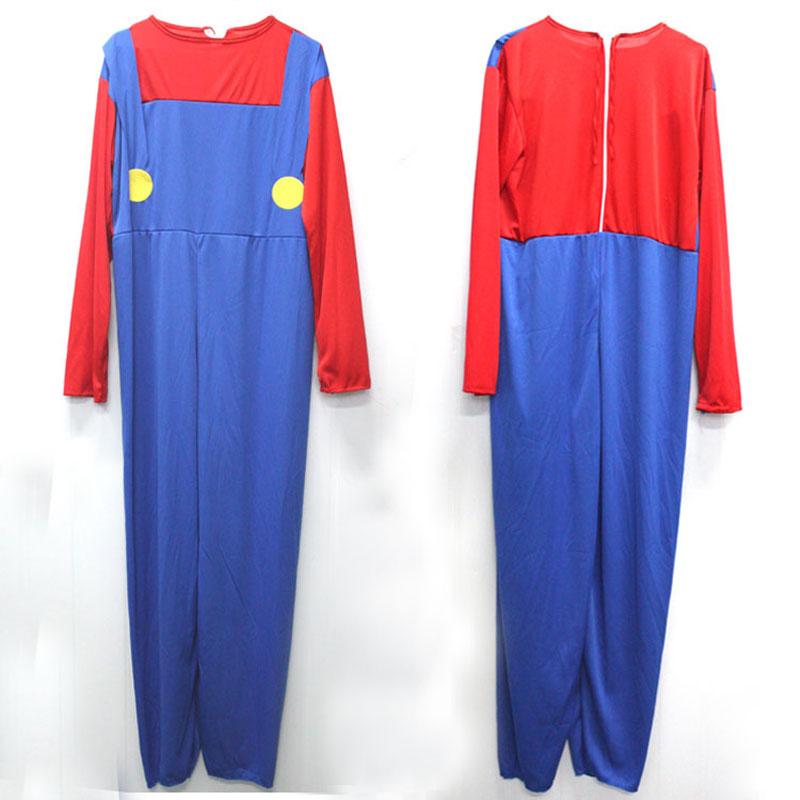 Umorden Helovinas kostiumai Vyrai Super Mario Luigi Brothers - Karnavaliniai kostiumai - Nuotrauka 4